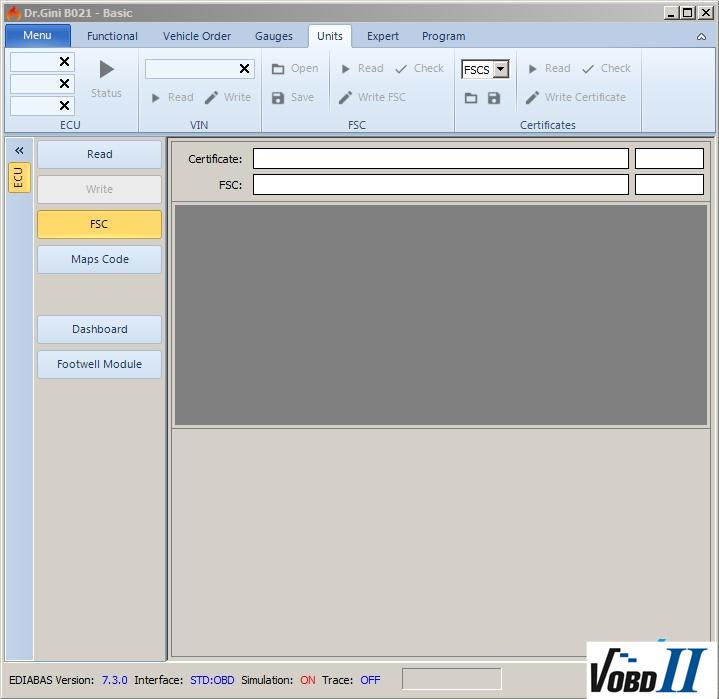 2018 Dr GINI B021 Engineering Software For BMW ICOM, ICOM NEXT
